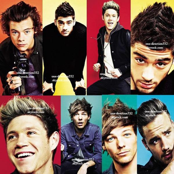 le 23 novembre 2013 - Harry avant le début du 1D Day + Niall se faisant teindre les cheveux par Lou durant le 1D Day