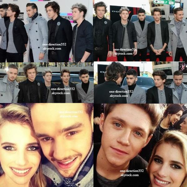 le 24 novembre 2013 - les boys aux American Music Awards 2013.