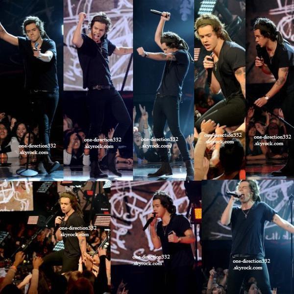 le 19 decembre 2013 - les boys à X Factor USA Finale.