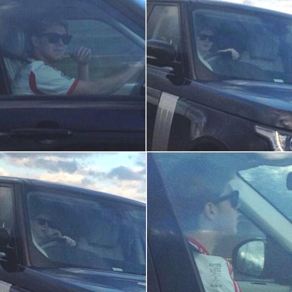 le o5 février 2o14 | Zayn et son cousin ont posté deux selfies sur Twitter.