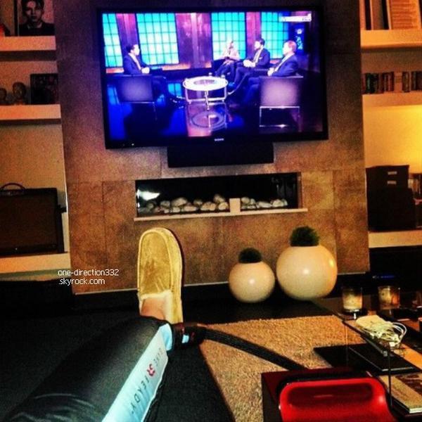 le o3 mars 2o14 | Harry avec Cameron Azoff à L.A.