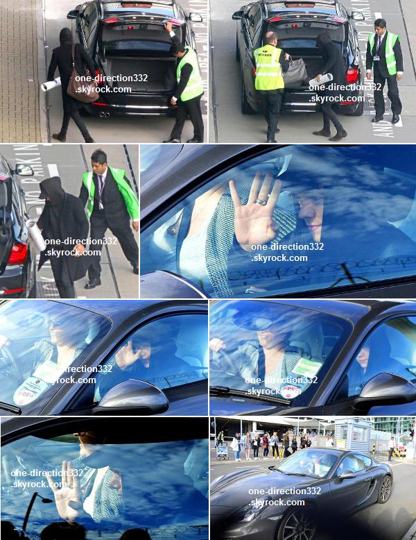 le 15 mars 2014 - Niall avec des fans lors d'une pause durant les répétitions.