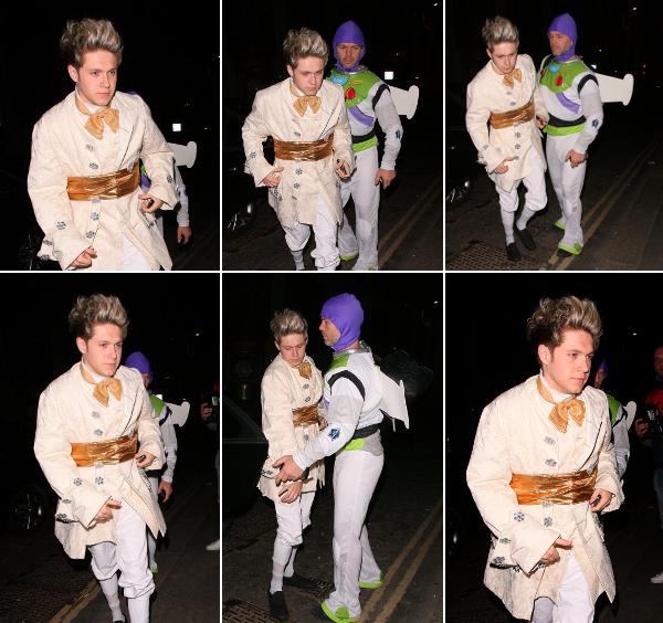 le 29 mars 2o14 - Niall à la fête d'anniversaire de Rochelle Humes.