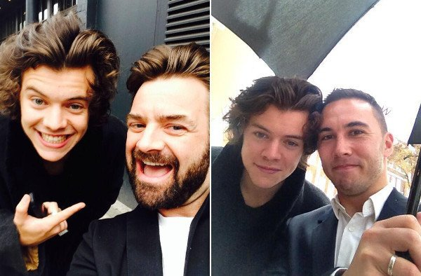 le o7 avril 2o14 - Harry à Londres.