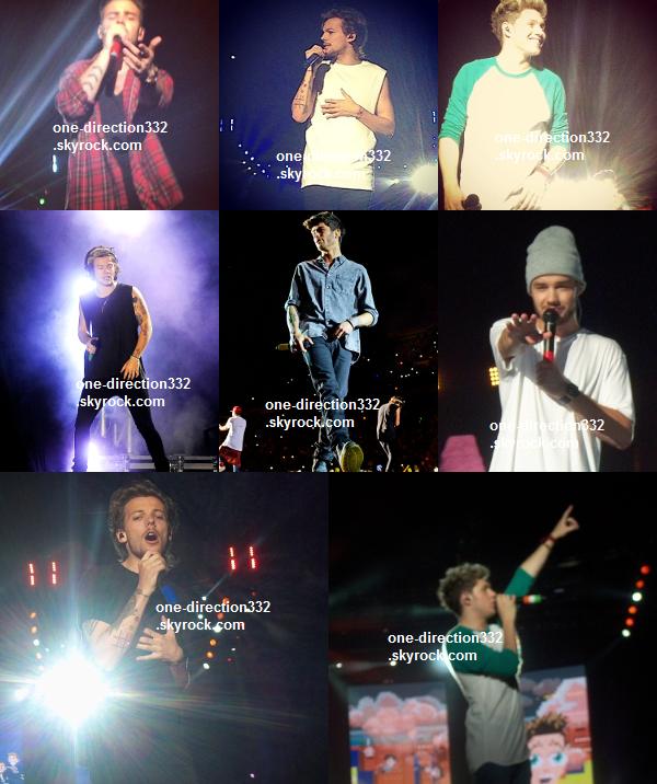 le 3 mai 2014 - les boys font leur concert à Buenos Aires, Argentine.