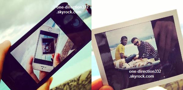 le 9 mai 2014 - Liam, Harry, Zayn et Niall à la piscine de l'hôtel