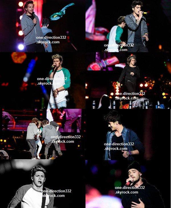 le 10 mai 2014 - les boys font leur concert à São Paulo.