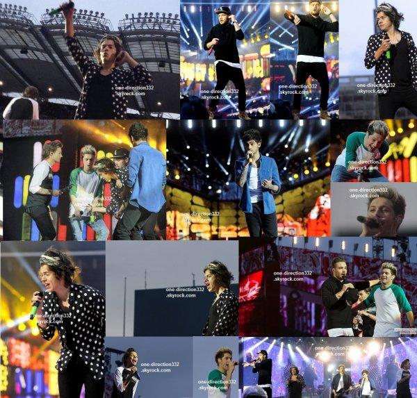 le 23 mai 2014 - les boys font leur concert a Dublin, Ireland