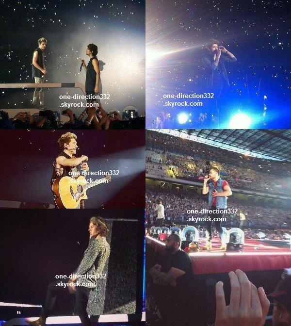le 28 juin 2014 - les boys ont donner leur concert à Milan.