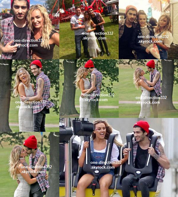 le 10 juillet 2014 - les boys ont fait leur concert à Madrid.