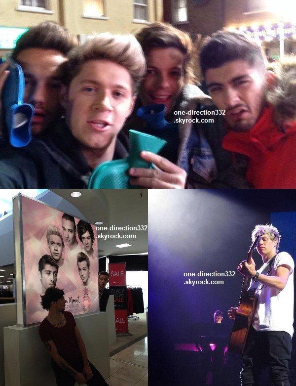 le 23 juillet 2o14 .|. Harry a pris une photo avec deux designers.