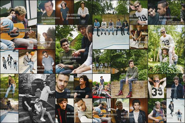 Découvrez un nouveau photoshoot des boys pour : four
