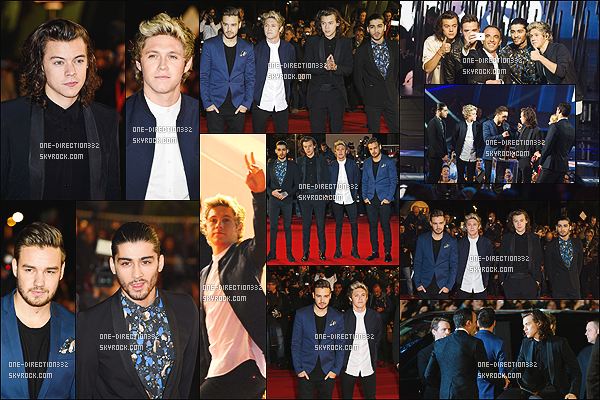 le 13 décembre 2014 ♥ les boys ( sans louis ) au nrj music award à canne