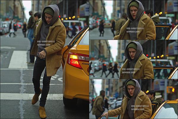 le 17 décembre 2014 ♥ harry dans new york