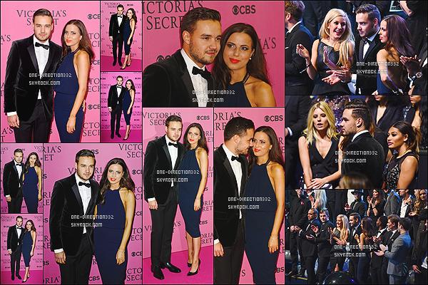 le 2 décembre 2014 ♥ Liam et Sophia au défilé Victoria Secret.