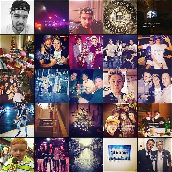 Découvrez les réseaux instagram des boys ♥