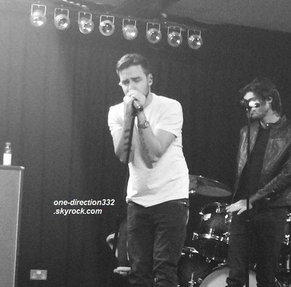 le 13 janvier 2015 - Harry a pris une photo avec une fan.