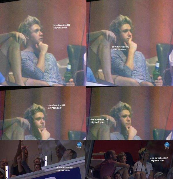 le 21 janvier 2015 - Niall a été voir un match de cricket