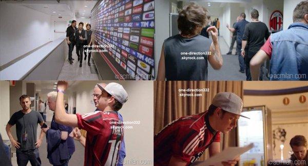le 30 janvier 2015 - Niall a été voir un match à l'Open d'Australie avec des amis