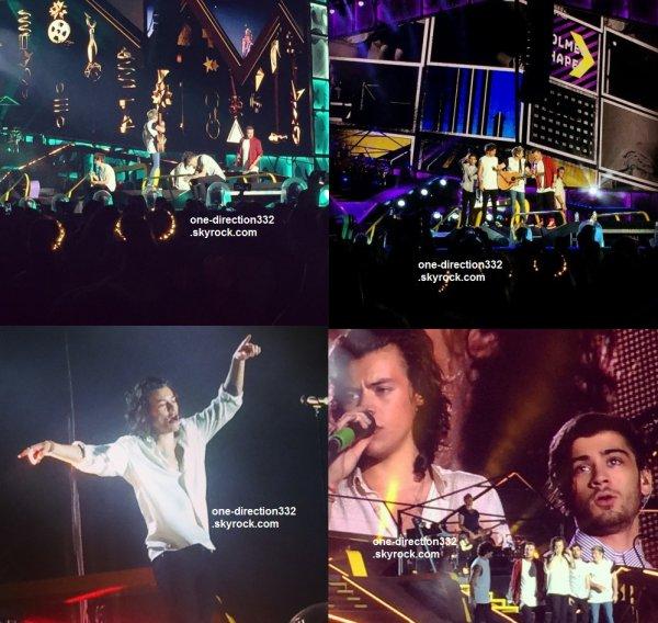 le 14 février 2015 - les boys ont fait leur concert à Melbourne, Etihad