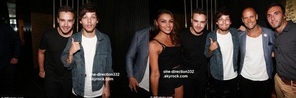 le 15 février 2015 - niall À l'hôtel à Melbourne