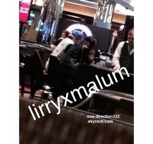 le 18 février 2015 - Niall & Melissa au Casino