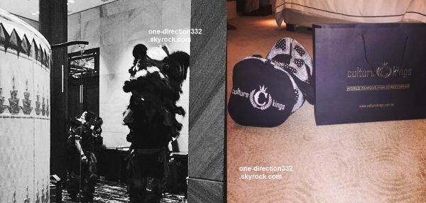 le 19 février 2015 - Niall et mélissa à Melbourne