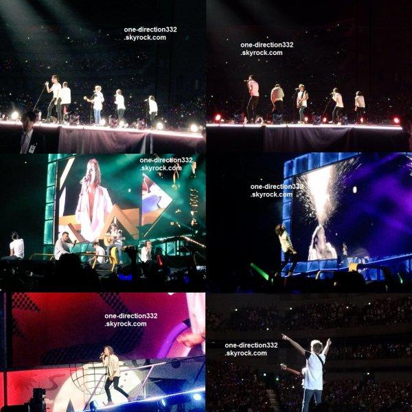 le 1 mars 2015 - les boys ont fait leur concert à Tokyo, Saitama Super Arena