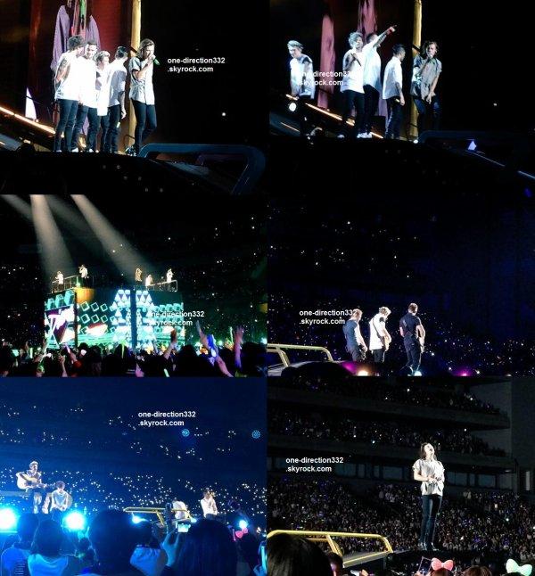 le 2 mars 2015 - les boys ont fait leur concert  à Tokyo