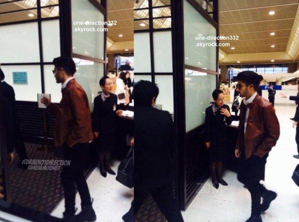 le 3 février 2015 - Zayn et Louis à une reastaurant au Japon