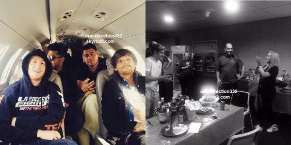 le 11 mars 2015 - harry niall et louis à l'aéroport de Singapour