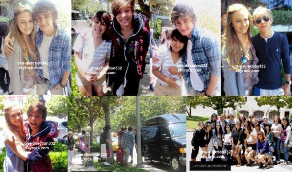 flash-back - le 25 juillet 2011 - les boys ont été aperçus pour la dernière fois devant leur hôtel à L.A avant leur retour à Londres