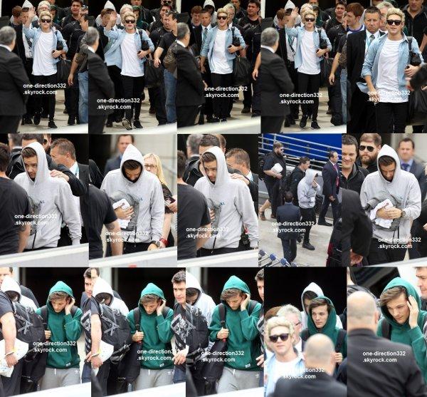 flash-back - le 5 novembre 2o14  -niall arrivant devant le studio à londres
