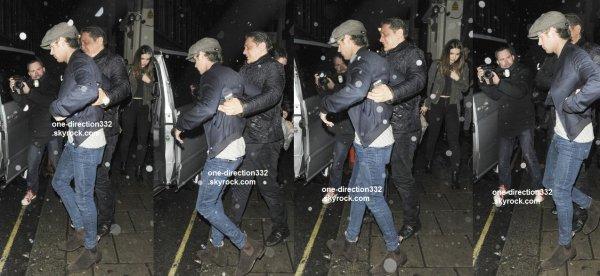 le 25 avril 2015 - Niall en boite à Londres