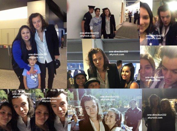 le 27 avril 2015 -  Harry à Los Angeles