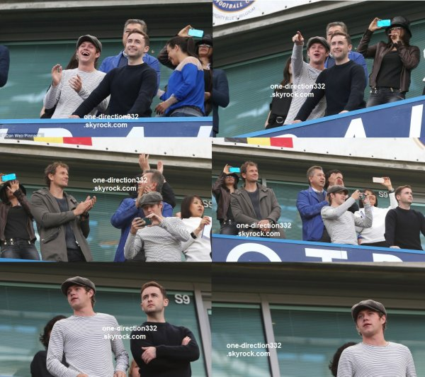le 3 mai 2015 - Niall regarder Chelsea vs Crystal Palace à Stamford Bridge à Londres