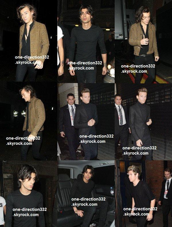 flash-back - le 13 novembre 2014 - Niall et Zayn ont fait des photos avec des fans.