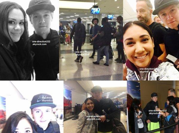 le 18 mai 2015 - niall et liam à l'aéroport de las vegas