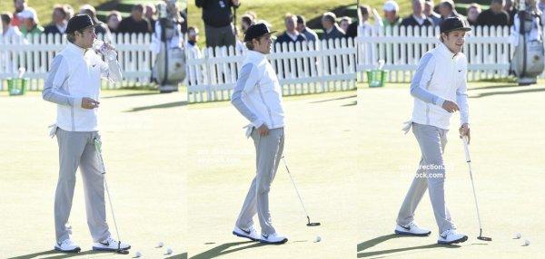 le 20 mai 2015 - Niall à Wentworth Golfcourse Pro Am à londres