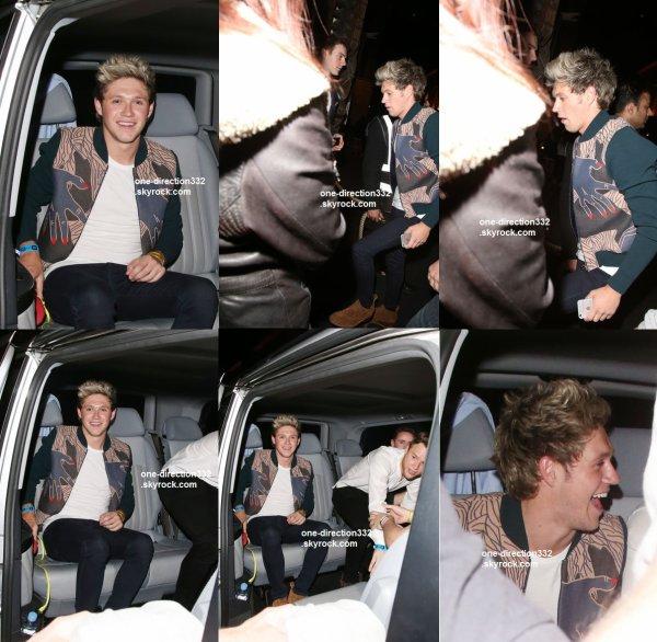 le 7 juin 2015 - Niall & Olly Murs au Mahiki discothèque à Londres