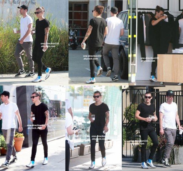 le 7 juillet  2015 - Harry shopping à Melrose