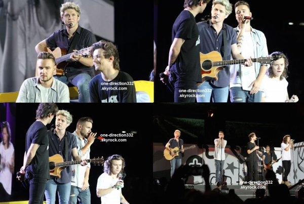 le 9 juillet 2015 - les boys ont fait leur concert à San Diego, Californie