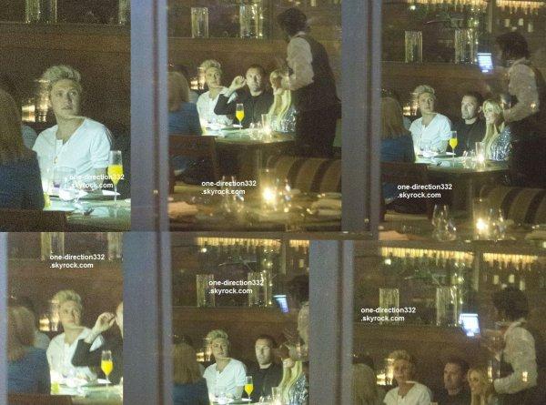 le 9 juillet 2015 - Niall lors d'un dîner d'anniversaire à Los Angeles