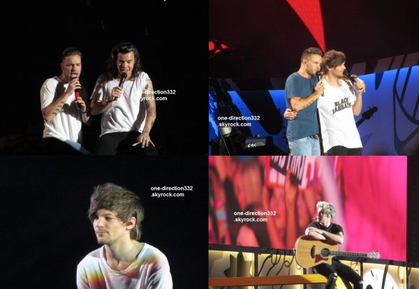 le 17 juillet 2015 - les boys ont fait leur concert à Vancouver, BC Place