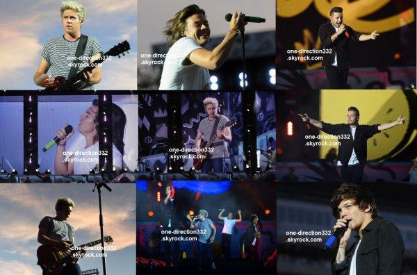 le 26 juillet 2015 - les boys ont fait leur concert à Minneapolis, TCF Bank Stadium