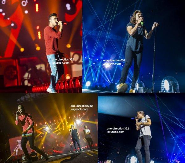 le 31 juillet 2015 - les boys ont fait leur concert à Indianapolis, Indiana