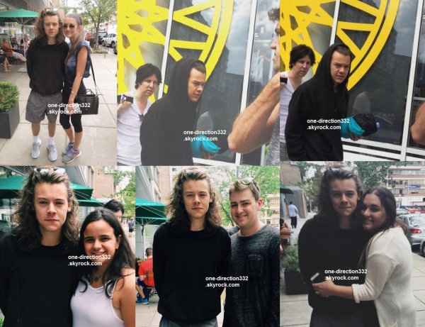 le 9 aout 2015 - Harry au SoulCycle à Washington DC