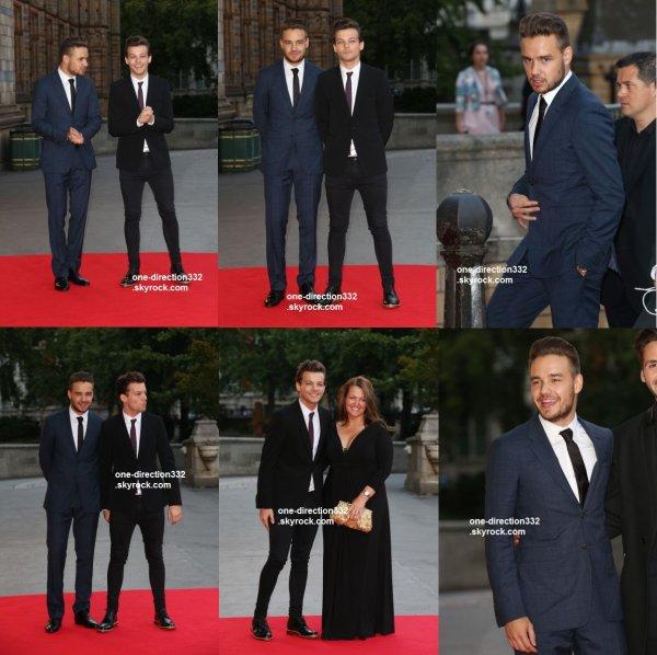 le 10 aout 2015 - Liam et Louis à la croire en la magie de Cendrillon Ball
