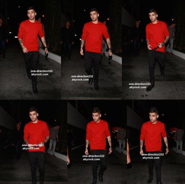 le 10 aout 2015 - Zayn au Sky Bar à Los Angeles