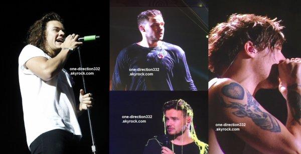le 3 septembre 2015 - les boys ont fait leur concert à Buffalo de new-york